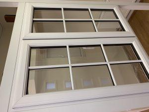 Aluminum bi folding doors