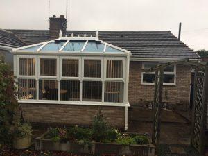 Mock Orangery Roof