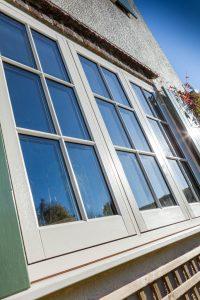 PVCu Flush Sash Window