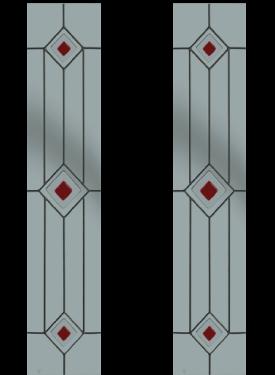 Trio Square Red