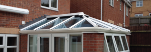 Tild glass window and roof