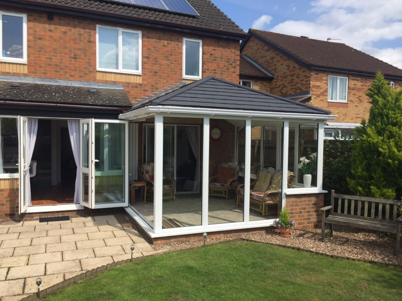 Icotherm conservatory roof